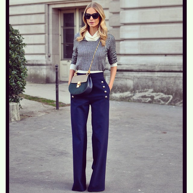 Poppy Delevingne auf der Paris Fashion Week