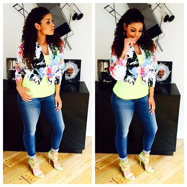 Outfit of the Day: Jordin Sparks