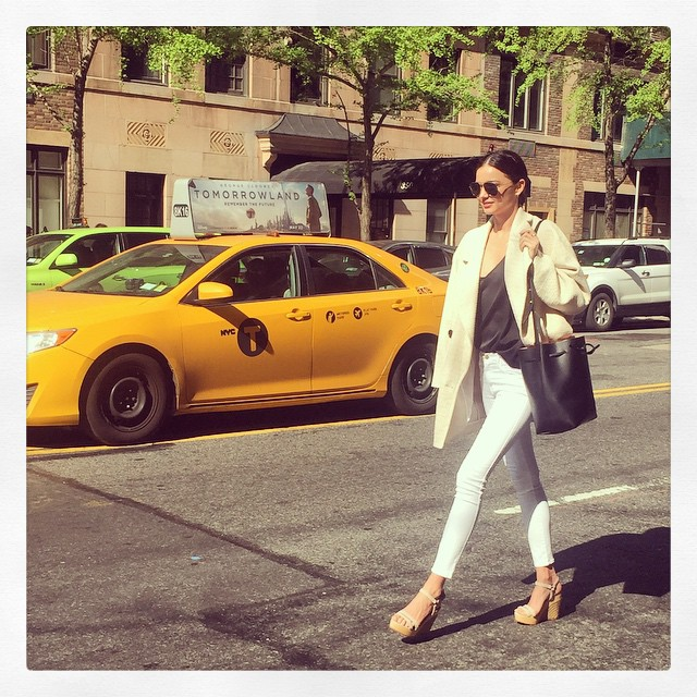 Miranda Kerr – Stylisch durch New York