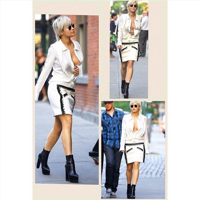 Rita Ora – Im sexy Look durch New York