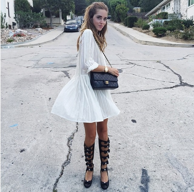 Chiara Ferragni goes to Hollywood