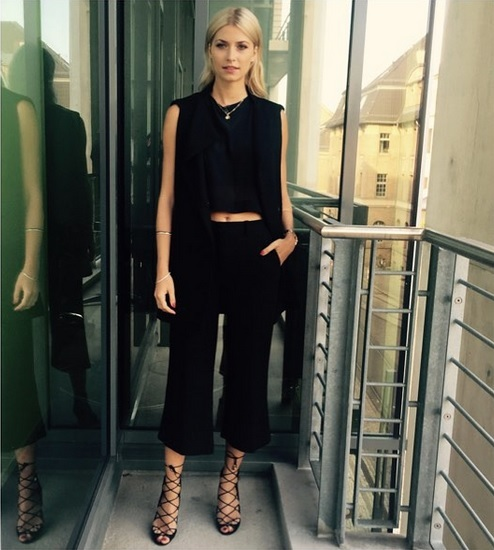 Lena Gercke – Black is beautyful