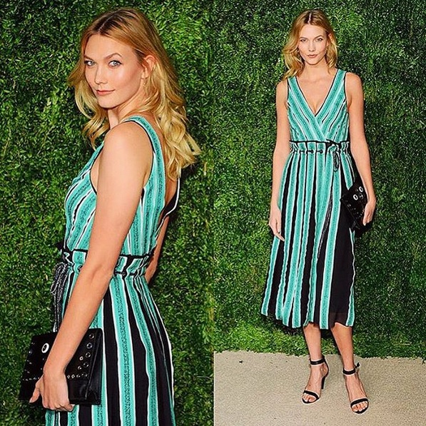 Karlie Kloss bei den CFDA/Vogue Fashion Fund Awards 2015