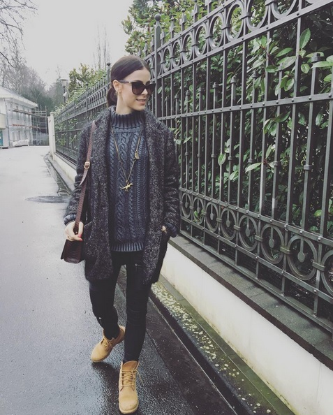 Der Winterlook von Lena Meyer-Landrut