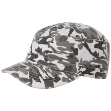 Army Camouflage Washed Cap