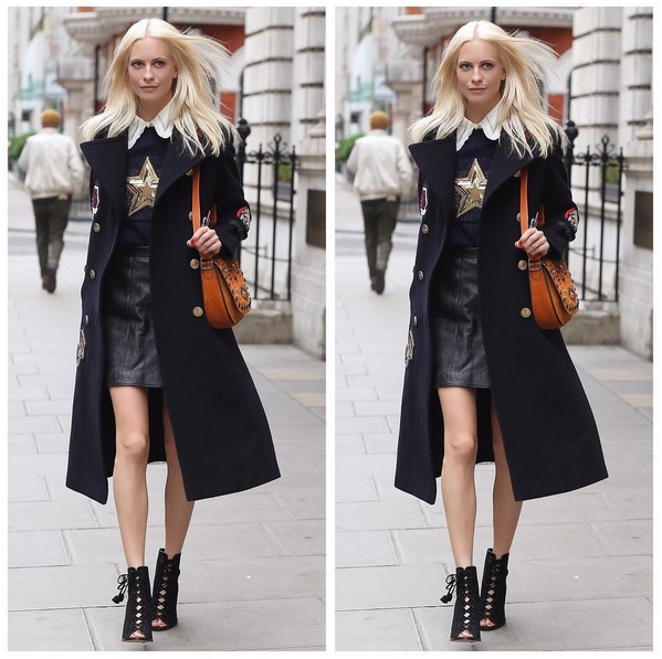 Poppy Delevinge – Ihr Look bei der London Fashion Week